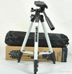 Licht tragbares kamerastativ online-40pcs eine Tasche WT-3110A Teleskop-Kamera-Handy-Stativ Multifunktions-Portable DV-Pod, vier Vollaluminium-Stativ Outdoor-Angeln Lichter