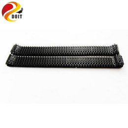 Wholesale Tiger Tank Rc 16 - Wholesale-3818 3818-1 RC tank chassis German tiger I 1 16 spare parts No.18-012 Caterpillar   plastic track   tank tracks Free shipping