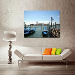 Wholesale Diy Famous Paintings - One-Picture Combination Art Wall Paint By Numbers Diy Oil Painting Famous Painting Collection For Home Modern Decoration (Venice Scenery)