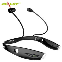 Gros-Nouvelle Mode Neckband Bluetooth Sport Stéréo Casque Zealots H1 HiFi Casque Avec Micro Pour iPhone / Samsung Appel Mains Libres ? partir de fabricateur