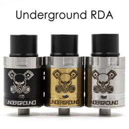 Wholesale E Cigarette Base - Newest Underground RDA Atomizers 510 Thread Driping Clone Vaproize New Base None Post RDA E Cigarettes MOD Atomizer 3 Colors