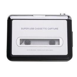 Wholesale Cassette Capture - 1Pc Tape Cassette to PC MP3 CD USB Converter Capture Walkman Music USB Cable