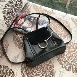 Wholesale Cute Fashion Backpack - 2017 Hot Summer Newest backpack Bag Dual-Use Handbag Epsom Cute Girl Fashion Bag High Quality Gold Hardware #8001
