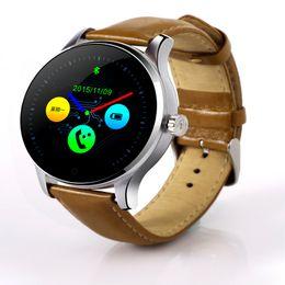 Wholesale Digital Watch Remote Control - Newest waterproof bluetooth K88H smart watch wearable devices smart health digital reloj inteligente smartwatch for apple android phone