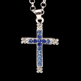 Wholesale Wholesale Fast Furious - Fast and the Furious movie with cross necklace with diamond Pendant 2016 new European and American popular jewelry alloy new