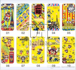 Wholesale Case Galaxy Note Minions - New Item Minion Soft TPU Back Cover Cases For iPhone 5 5s 6 plus Samsung Galaxy Note 2 3 4 Cell Phone Cases