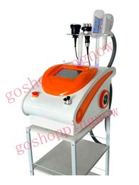 Wholesale Special Therapy - big promotion !Special price freeze fat mini protable cool therapy vacuum cavitation rf body slimming machine