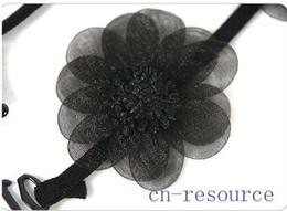 Wholesale Bra Shoulder Belt - Wholesale-2 x Flower Lace Adjustable Bra Strap Shoulder Belt