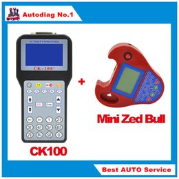 Wholesale Saab Zed Bull - CK100 Auto Key Programmer V99.99 CK-100 Smart Mini Zed Bull Auto Key Programmer No Tokens Smart ZedBull with Multi-language