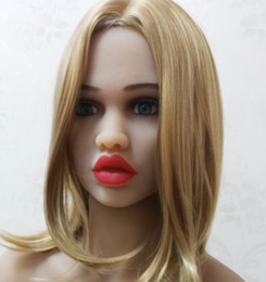 Wholesale Male Life Size Doll - DL #66 full size silicone sex doll head for big size love doll,oral sex doll heads