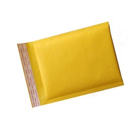 Wholesale Wholesale Padded Shipping Envelopes - 150*180mm Kraft Bubble Mailers Mailing Padded Envelopes Bags Wrap Bags Pouches Packaging Bubble Bags Free Shipping
