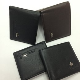 Wholesale Wallets For Men Cheap - Cheap New PU Leather Men Wallets Purse & Bifold Brand Wallet Retro Design Style Purse For Men 2016 New Hot