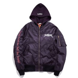 Wholesale Woman Copy - 2018 copy oversize jacket men women hoodies hip hop skateboard kanye west y e e zy France jacket vetements s u p re mo hoodies jacket