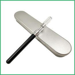 Penne personalizzate online-Logo personalizzato OEM vetro Cartuccia in ceramica Kit custodia in metallo O penna Vape auto bud touch Batteria 280mah Vape penna Vetro CO2 vaporizzatore olio