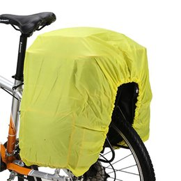 Wholesale Bike Cover For Rain - Bicycle Pannier Bag Rain Cover Protection Waterproof Cloth for 40L - 65L Bike Cycling Pannier Bag Rainproof Cover