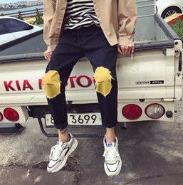 Wholesale Warm Pants Winter Trousers - Winter Thick Warm Pants Men Casual Patchwork Long Loose Sports Trousers Cross-Pants for Male