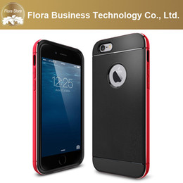Wholesale I Phone Bumper Case - Metal Aluminum Bumper Frame TPU Soft Back Cell Phone Cases for apple iPhone6 &i iphone6 plus Neo Hybrid Phone Cases with Retail Package