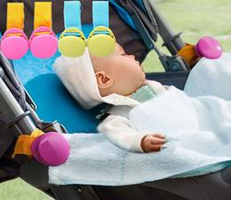 4 ADET İşlevli Bebek Arabası Kanca Battaniye Güz Önleme Klipler Arabası Aksesuarları nereden bisikletle takılan telefon tutacağı tedarikçiler
