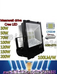Wholesale Square Driving Led Light - new products for 2016 IP65 approved outdoor ul saa led light 30w 50w 70w 100w 120w 150w 200w led floodlight Meanwell drive LLFA