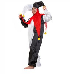 2017 New Arrival Men and Women Halloween Costumes Full Set Adult Funny Circus Clown Costumes Unisex Cosplay Costumes  sc 1 st  DHgate.com & Circus Costumes Men NZ | Buy New Circus Costumes Men Online from ...