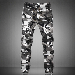 Wholesale Military Cargo Men Pant - Wholesale-M-5X 2016 Mens Jogger Autumn Pencil Harem Pants Men Camouflage Military Pants Loose Comfortable Cargo Trousers Camo Joggers