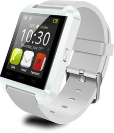 Wholesale Touchscreen Watch Bluetooth - 100% Original U8 Bluetooth Smart Watch Sport watches for iPhone Samsung Android Phone Smartwatch wearable touchscreen HD