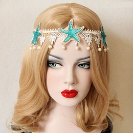 Wholesale Masquerade Hair Accessories - wedding Sexy party Vintage Headband for women Fashion Hair Accessories Head bands For Christmas holiday masquerade Party Fascinator
