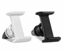 Wholesale Phone Stand White - Top Quality Universal Car Air Vent Mount Cradle Cell Mobile Phone Stand Holder for iPhone 6 6 Plus samsung s7 GPS Sony htc