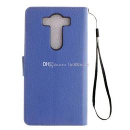 Wholesale Magnetic Leather Flip Hard Case - Leather Flip Hard Magnetic Style Cover Case phone Holster Wallet Cover Case For LG V10 G4 Stylus H420 H220 flip cover