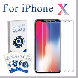 Wholesale Screen Protector For Huawei - For iPhone 5 5s 5se 6 6s 7 8 X Plus Tempered Glass 2.5D HD 9H 0.33mm Anti-Scratch For Samsung Huawei Xiaomi LG Screen Protector curved Film
