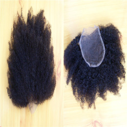 Wholesale Grade 5a Malaysian Curly Hair - Tip quality Free shipping 5A grade never shedding real great human virgin Brazilian kinky curly hair 2mm curly hair 2piece free shipping
