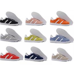 Wholesale M Pop - 2017 Original Gazelle Vintage Casual Lovers Shoes Campus Pop Girl and Boy GAZELLE OG Flat Superstar Casual Sneakers
