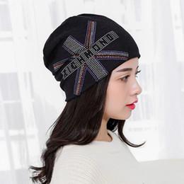 Wholesale Union Jack Black - Hot sale new winter hot drilling union jack head cap beanie skull cap hip-hop cap hat factory