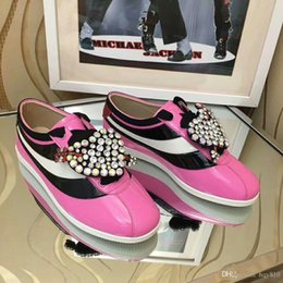 Wholesale Patent Manual - women casual shoes Top luxury fashion woman shoes Designer latest products Manual reduction high quality Patent Leather model 181812898