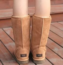 Wholesale Plush Skins - Supply Drop Shopping New fashion women girls snow boots winter boots warm shoes top quality original skin fur boots sizes eur36-43
