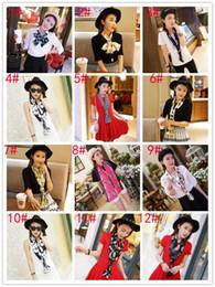 Wholesale Long Cravat - women Korea scarf small long 150*16cm satin cravat chiffon hair band bag handle decoration bandeaus ribbon bandanas twilly 13 colour