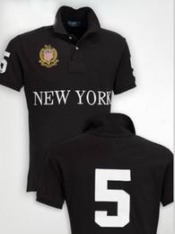 Wholesale Designer Men S T Shirt - Brand Designer Polo T Shirts For Men Cotton Big Horse Embroidery Casual Men's Short Sleeve Shirts Berlin Paris London Rome New York Mil