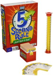 Wholesale Out Board - HOT NEW GAME 5 Second Rule board game 5SECOND RULE 5 Second Rule - Just Spit it Out!