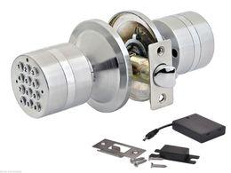 Wholesale Electronic Keypad - Keyless Electronic Code Digital Card Keyless Keypad Security Entry Door Lock