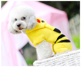 Wholesale Small Discount Wholesalers - Free Shipping 2016 New Hot Sale Discount Pet Clothes Cute Cartoon Design Dog Clothes XS-XL PK707 5Pcs