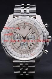 2019 diferentes fábricas Proveedor de fábrica Serie Clásica Relojes de pulsera de lujo de alta calidad 47mm Cronógrafo de cuarzo de acero inoxidable Reloj para hombre Relojes de diferentes colores diferentes fábricas baratos