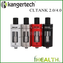 Wholesale Kanger Products - Kanger CLTANK Atomizer Tobacco Products Directive TPD Tank 2.0ml 4.0ml Version Top Refilling with Symmetric Airflow holes 100% Original