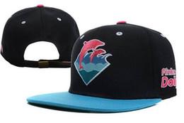 Wholesale Dolphins Snapback - Wholesale hot Snapback Hats High Quality Pink Dolphin Snapbacks Caps Cheap Baseball Snap Back Hat Fashion Hip Hop hats