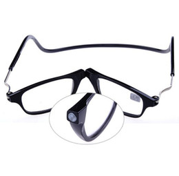 Wholesale People Reading - Wholesale-2016 Magnetic Reading Glasses With Diopter +1.0 +1.5 +2.0 +2.5 +3.0 +3.5 +4.0 Men Women Spectacles Old People 3 colors