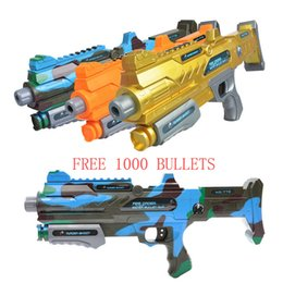 Wholesale Nerf Water - FREE SHIPPING HOT SALE PAINTBALL RIFLE CS GAME SHOOTING WATER CRYSTAL GUN PLASTIC NERF AIR SOFT ARMY GUN
