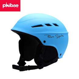 Wholesale Helmet S - 2018 New Year Present Winter Ski Helmet Parent-Child Outdoor Sports Equipment Single and Double Plate Skateboarding Head Childrens Models