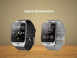 Wholesale Support For Batteries - 2016 Fashion Aplus Smart Watch GV18 Support Micro SIM Card NFC Communication Bluetooth 3.0 Clock 550mAh Battery Long Duration