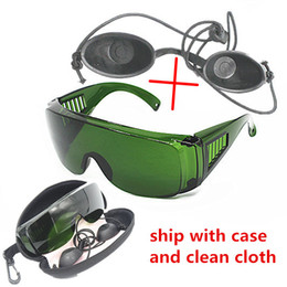 Wholesale OPT E light IPL Photon Beauty Instrument safety protective glasses red laser goggles nm wide absorption