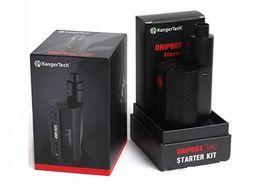 Wholesale kanger liquid - Best selling original Kanger Dripbox 160 Starter Kit with 7ml Liquid Capacity KangerTech Dripbox 160w Box Mod DIY Pro Kit