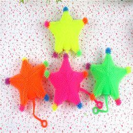Wholesale Retail Marketing - The stall selling Maomao night market LED toys small animal Maomao monkey mix vent ball